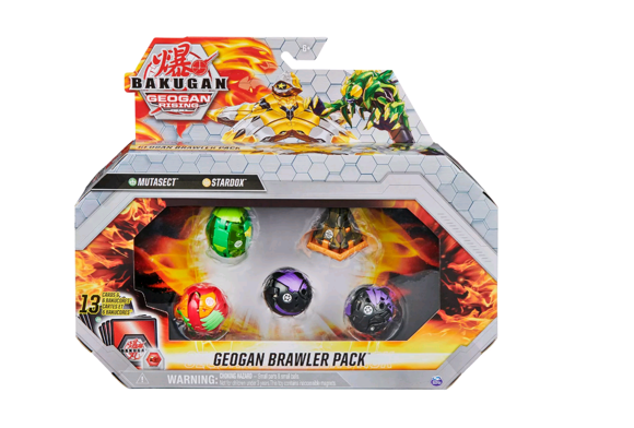 Bakugan - Geogan Brawler Pack - Mutasect and Stardox (6059411)