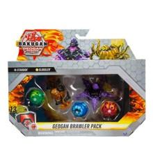 Bakugan - Geogan Brawler Pack - Stardox & Sluggler