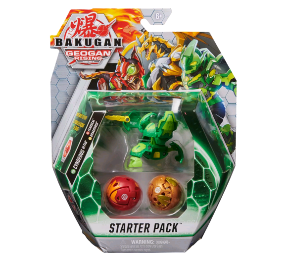 Bakugan Starter Pack S3 - Cyndeous Ultra, Ferascal & Dragonoid (6059570)