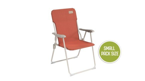 Outwell - Blackpool Chair - Warm Red (470348)