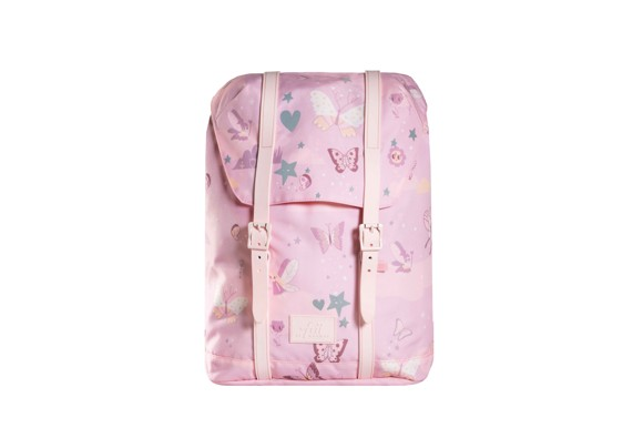 Frii of Norway - School Bag (22L) - Pink Butterfly (21100)