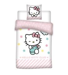 Sengetøj - Voksen str. 140 x 200 cm - Hello Kitty