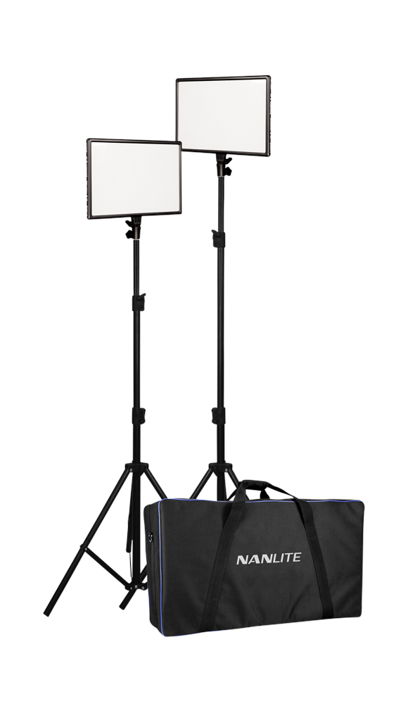 Nanlite -  25 LED 2 LIGHT KIT WITH STAND
