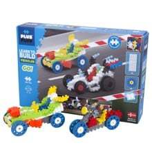 Plus Plus - ​Learn to build - Vehicles (7011)