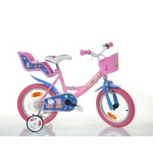 Dino Bike - Children Bike 12'' - Peppa Pig (124RK-PIG)