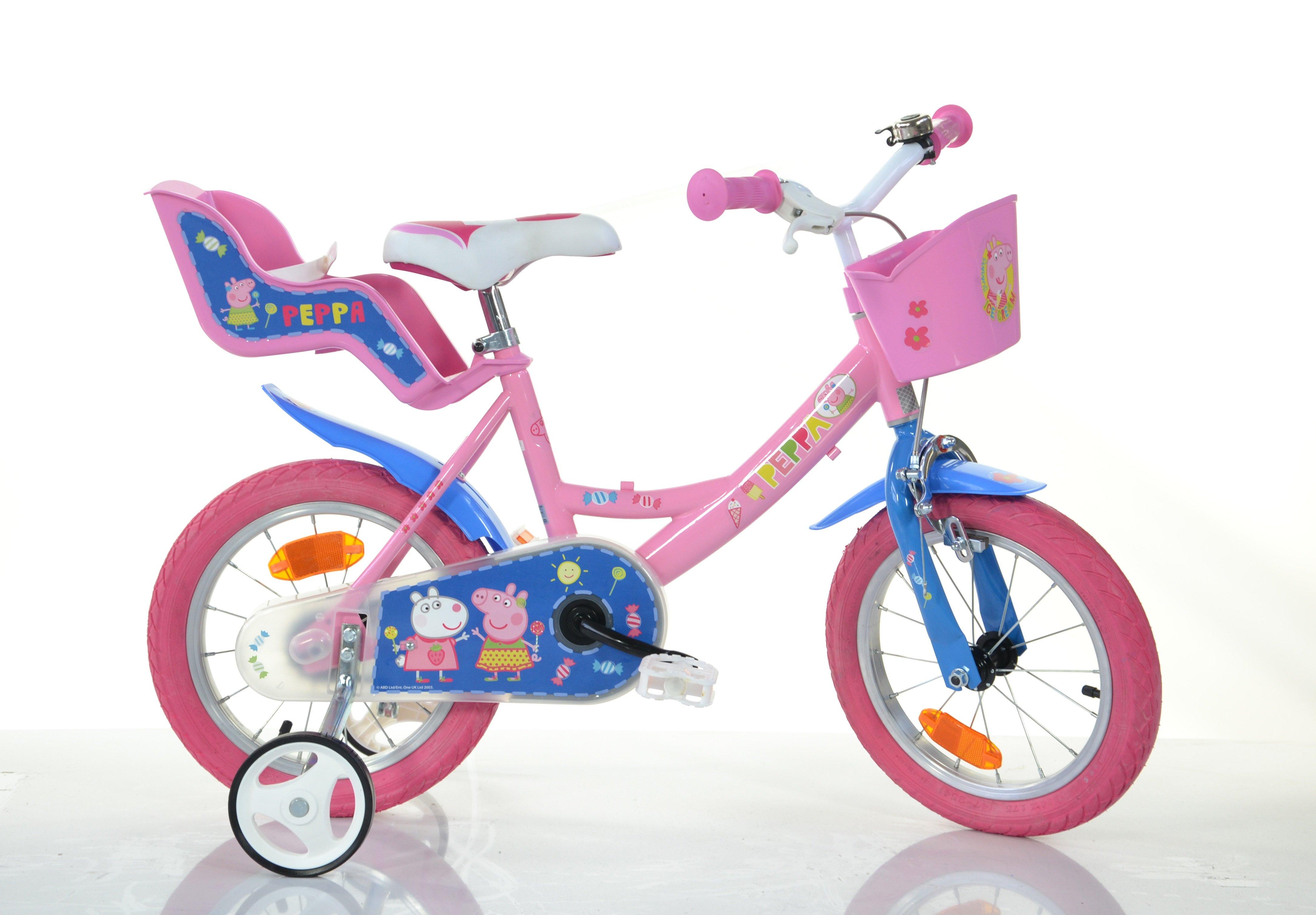 Billede af Dino Bikes - Børnecykel 12'' - Gurli Gris