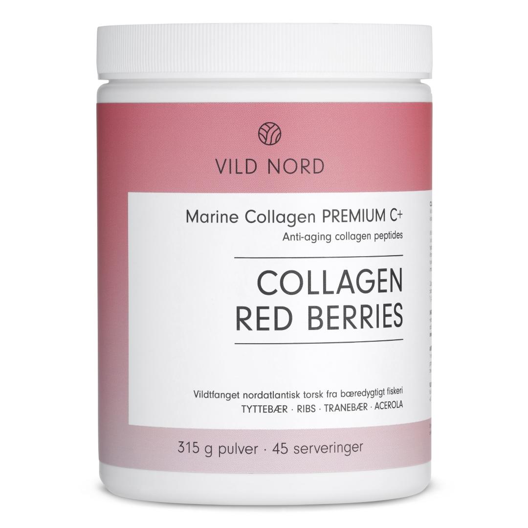 VILD NORD Marine Collagen RED BERRIES