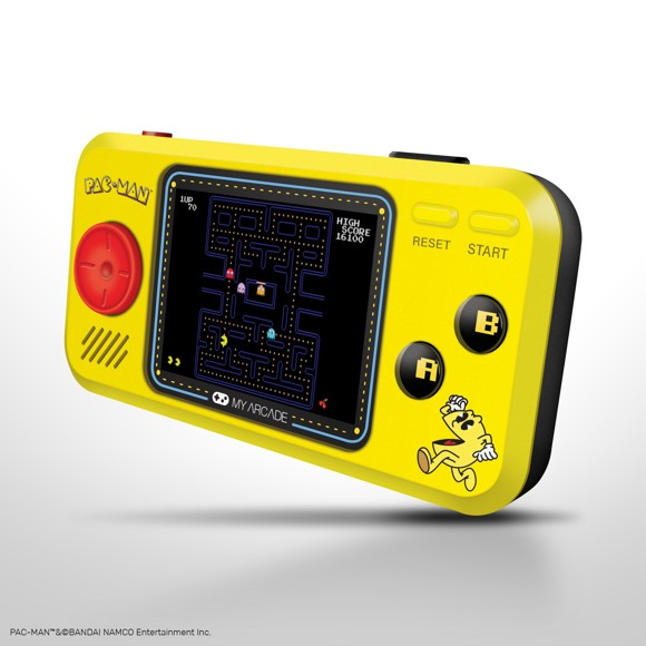 Myarcade Pocketplayer PAC-MAN 3 Games
