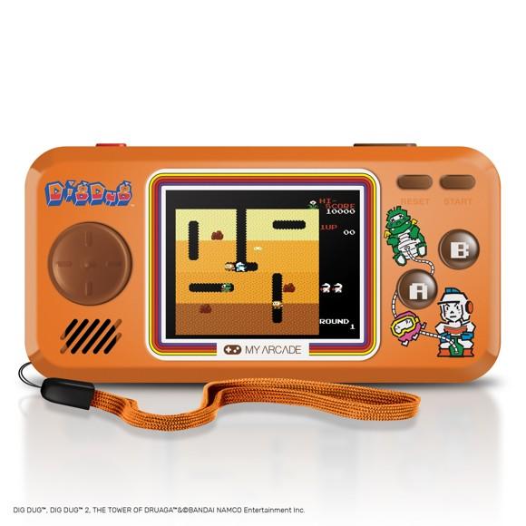 Myarcade Pocketplayer Dig Dug 3 games