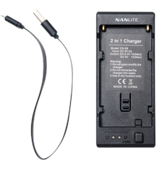 Nanlite - CN-58 2-1 CHARGER FOR NP STYLE BATTERY