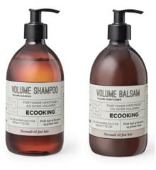 Ecooking - Volume Shampoo 500 ml + Volume Balsam 500 ml
