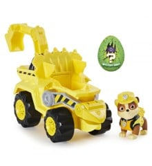 Paw Patrol - Dino Deluxe Themed Vehicles - Rubble