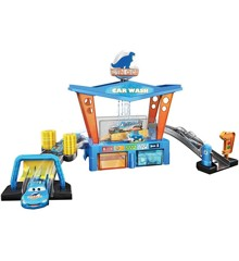 Disney Cars - Color Change Dinoco Car Wash Playset (GTK91)
