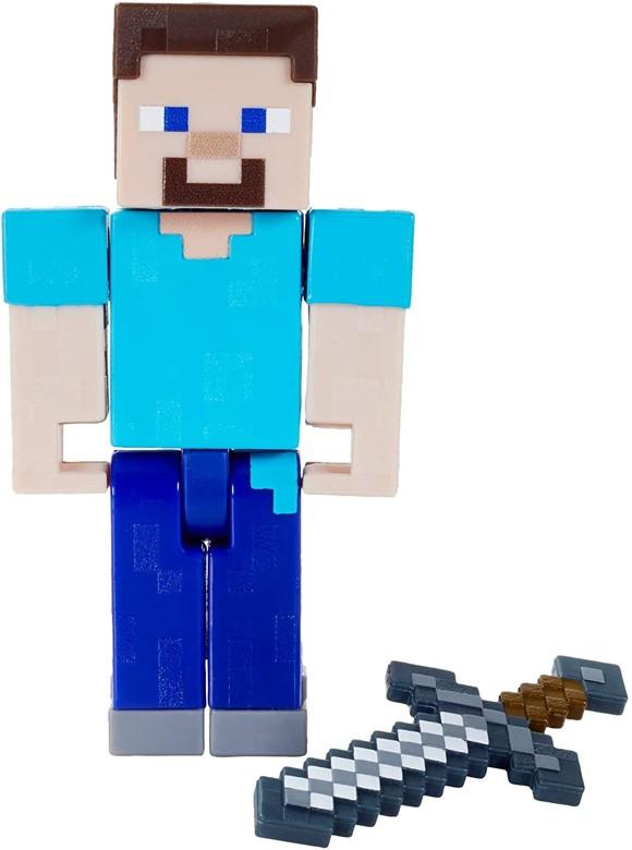 Minecraft - Biome Builds - 8cm Steve Figure (GTP13)