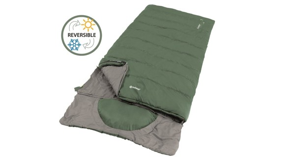 Outwell - Contour Lux XL Sleeping Bag 2021 - Green (230368)