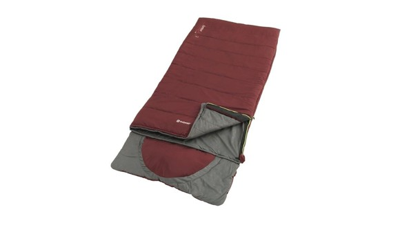 """Outwell - Contour Lux """"L"""" Sleeping Bag 2021 - Red (230367)"""