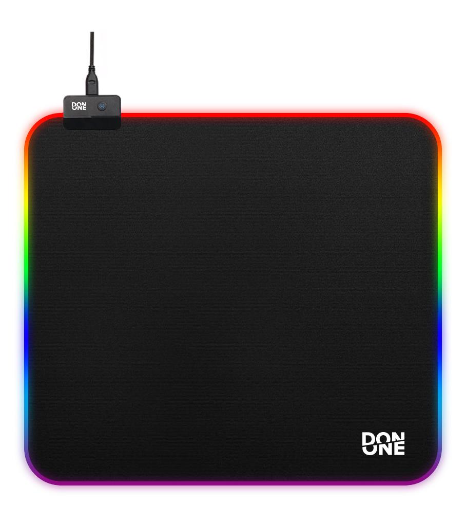 Billede af DON ONE - MP450 RGB Gaming Musemåtte LARGE - Soft Surface (45 x 40 CM)