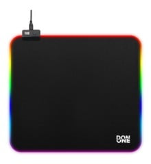 DON ONE - MP450  RGB Gaming Musemåtte LARGE - Soft Surface  (45 x 40 CM)