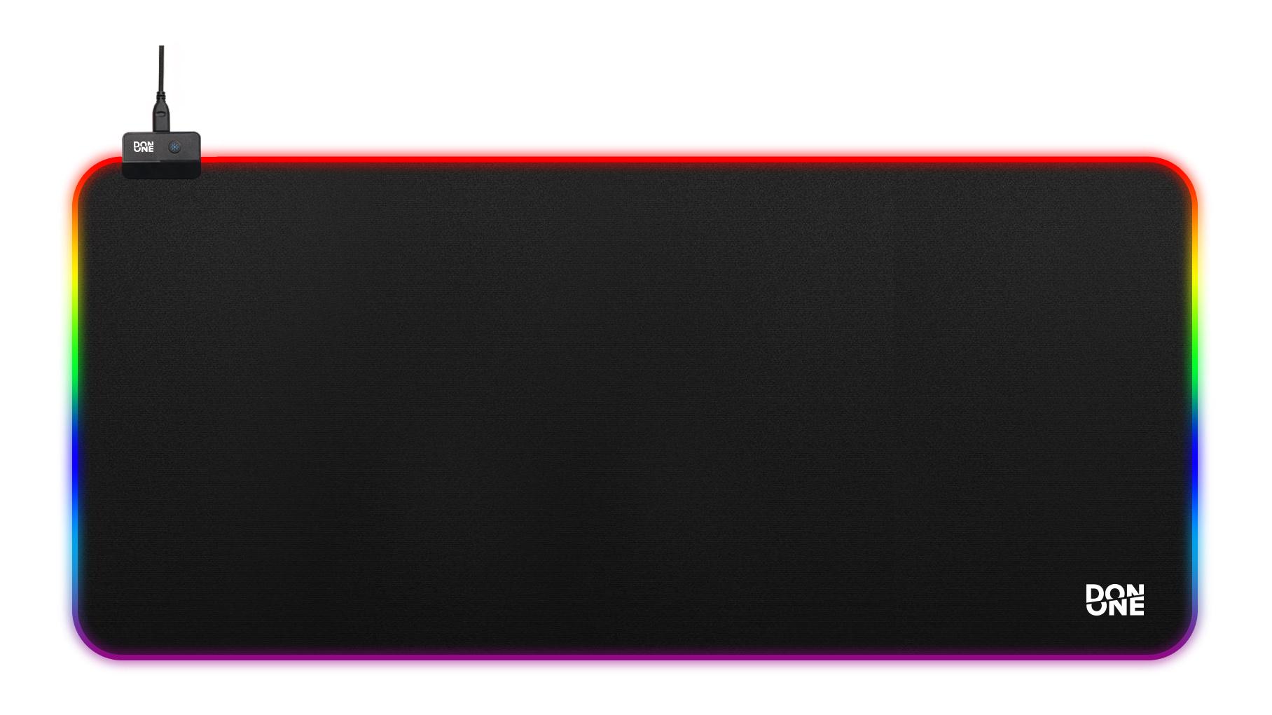 Billede af DON ONE - MP900 RGB Gaming Musemåtte XL - Soft Surface (90 x 40 CM)