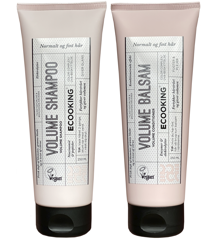Ecooking - Volume Shampoo 250 ml + Volume Balsam 250 ml