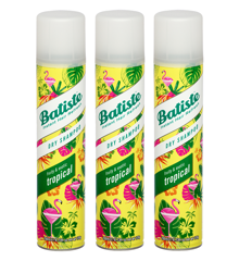 Batiste - 3 x Dry Shampoo Tropical 200ml