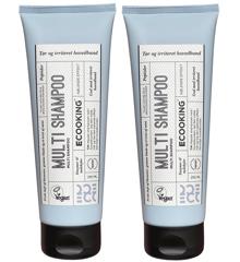 Ecooking - 2x Multi Shampoo 250 ml