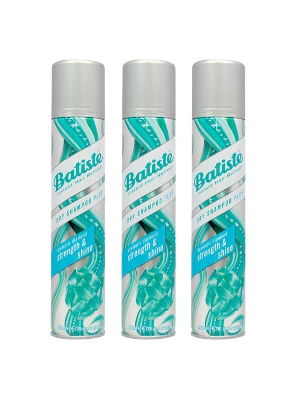 Batiste - 3 x Dry Shampoo Strength & Shine 200 ml