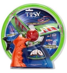 The Tosy UFO Flying Spinner - AFO LED Flash - Grøn