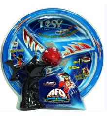 The Tosy UFO Flying Spinner - AFO LED Flash - Blå