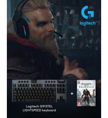 Logitech - G915 TKL Tactile Gaming Keyboard + Assassin's Creed: Valhalla PC Bundle