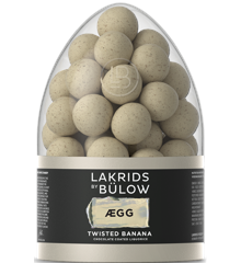 Lakrids By Bülow - EGG Påskeæg 2021 Twisted Banana 485 g