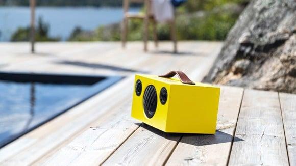 AUDIO PRO ADDON T3+ Portable Wireless Bluetooth Speaker - Lemon Limited Edition