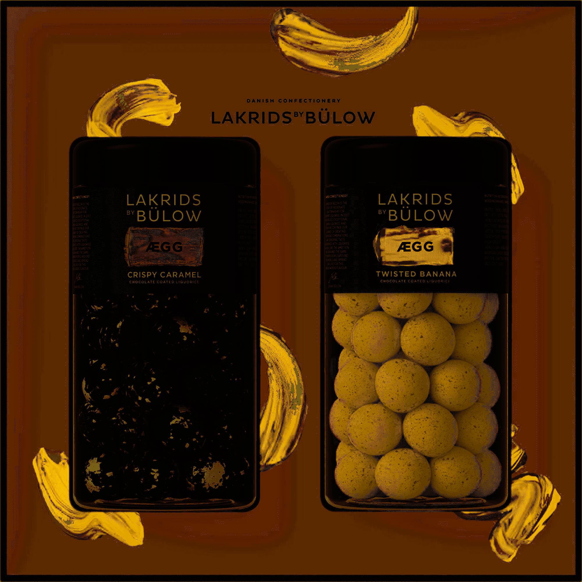 Lakrids By Bülow - Black Box Egg Regular&Regular 590 g (500538)
