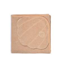That's Mine - Badehåndklæde Med Hætte 90 x 90 cm - Dusty Rose