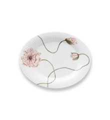 Kähler - Hammershøi Poppy Ovalt Table Tray - White With Deko (692309)