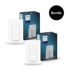 ​Philips Hue - 2x New Dimmer Switch  Bundle