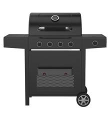 Dangrill - Gasgrill Heimdal 410 PS 4 Brænder + Sidebrænder