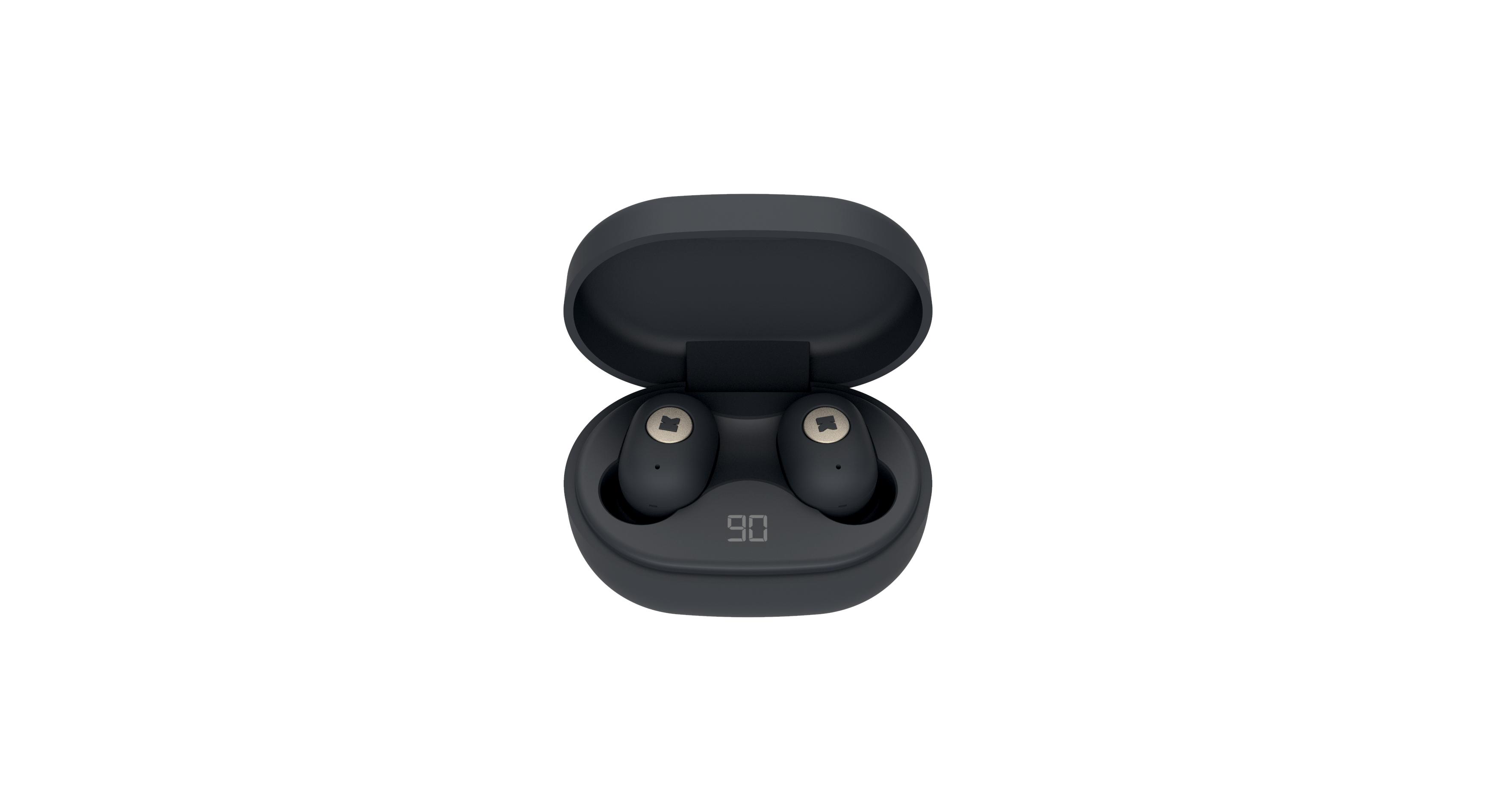 Billede af KreaFunk - aBEAN In-Ear Bluetooth Høretelefoner - Sort