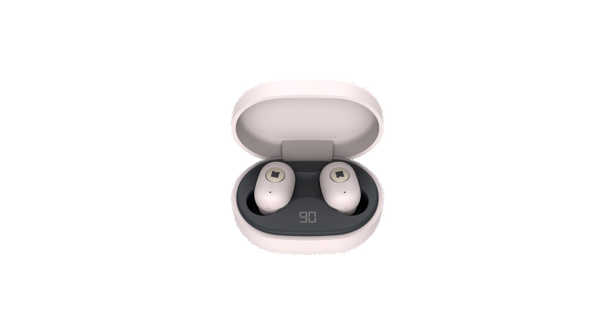 Billede af KreaFunk - aBEAN In-Ear Bluetooth Høretelefoner - Støvet Pink