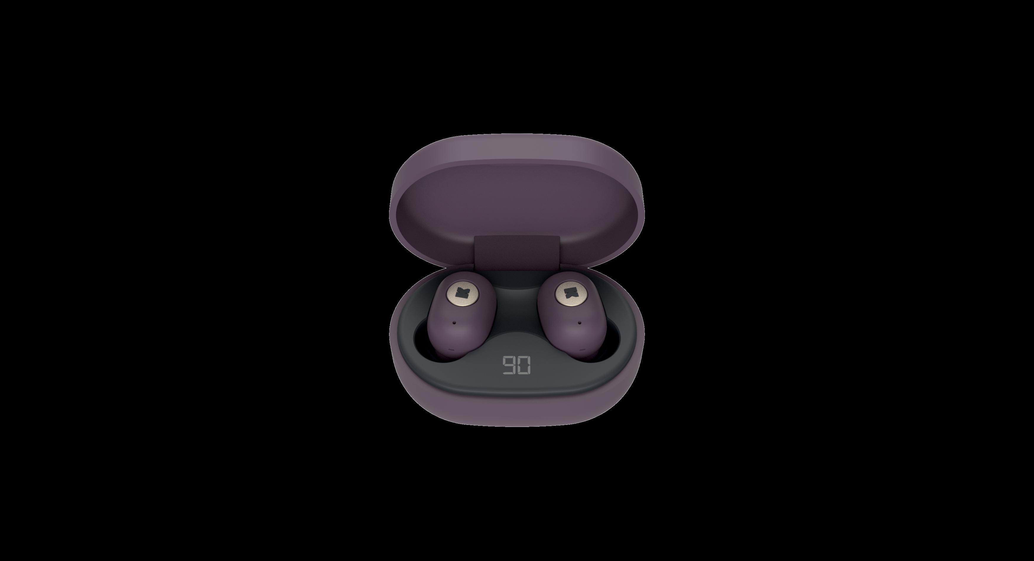 Billede af KreaFunk - aBEAN In-Ear Bluetooth Høretelefoner - Urban Plum