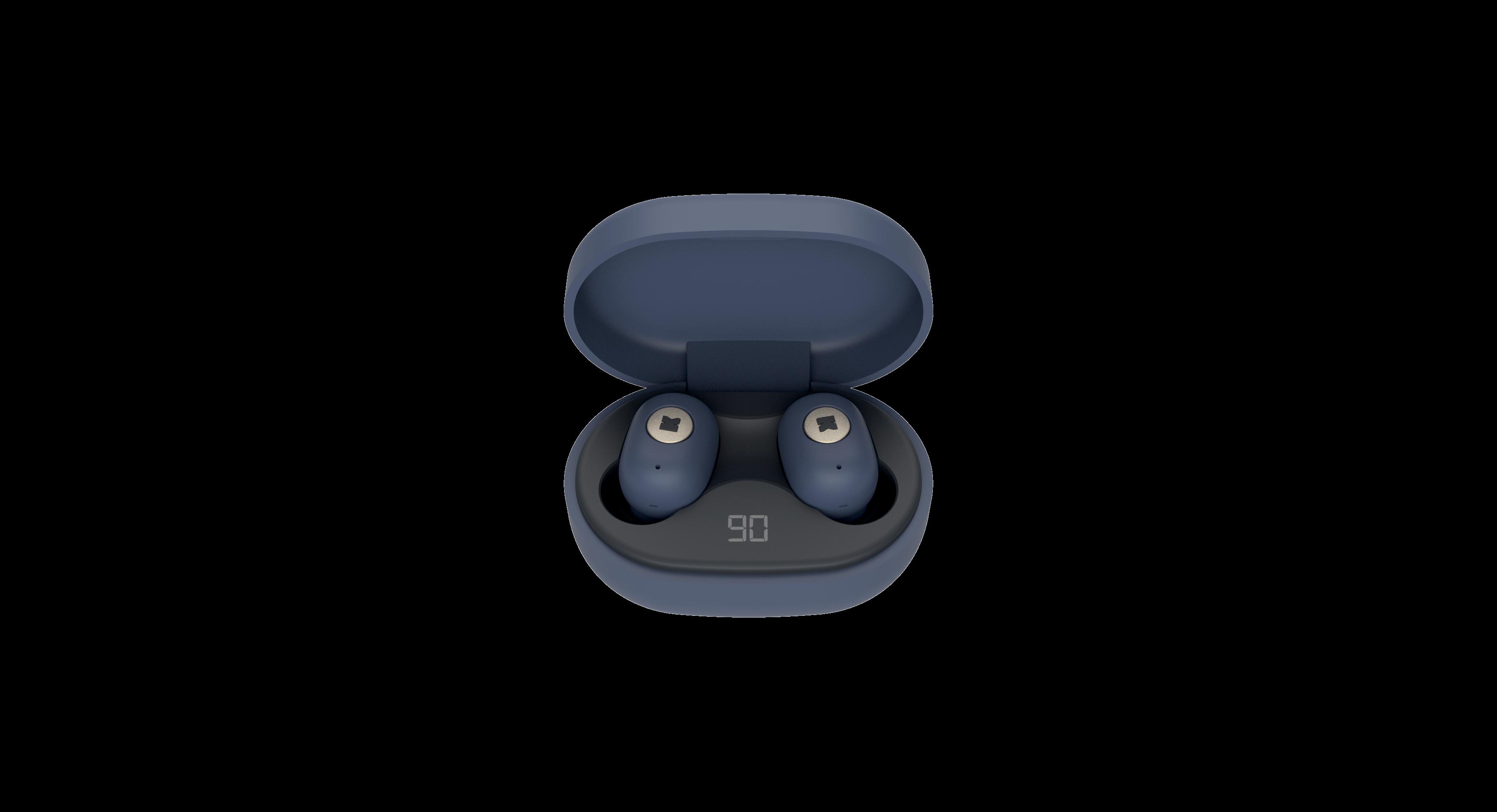 Billede af KreaFunk - aBEAN In-Ear Bluetooth Høretelefoner - Midnatsblå