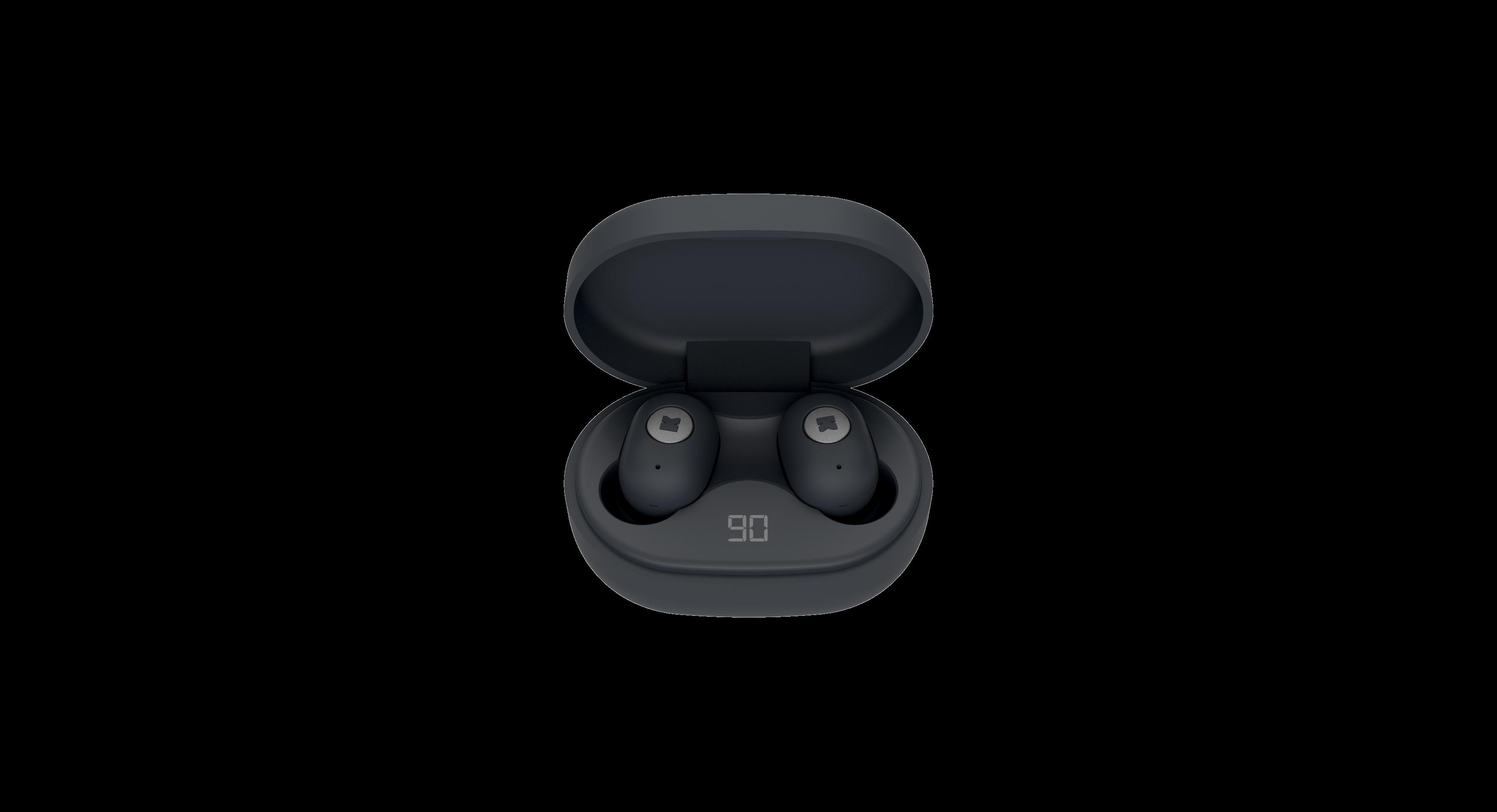 Billede af KreaFunk - aBEAN In-Ear Bluetooth Høretelefoner - Sort Edition