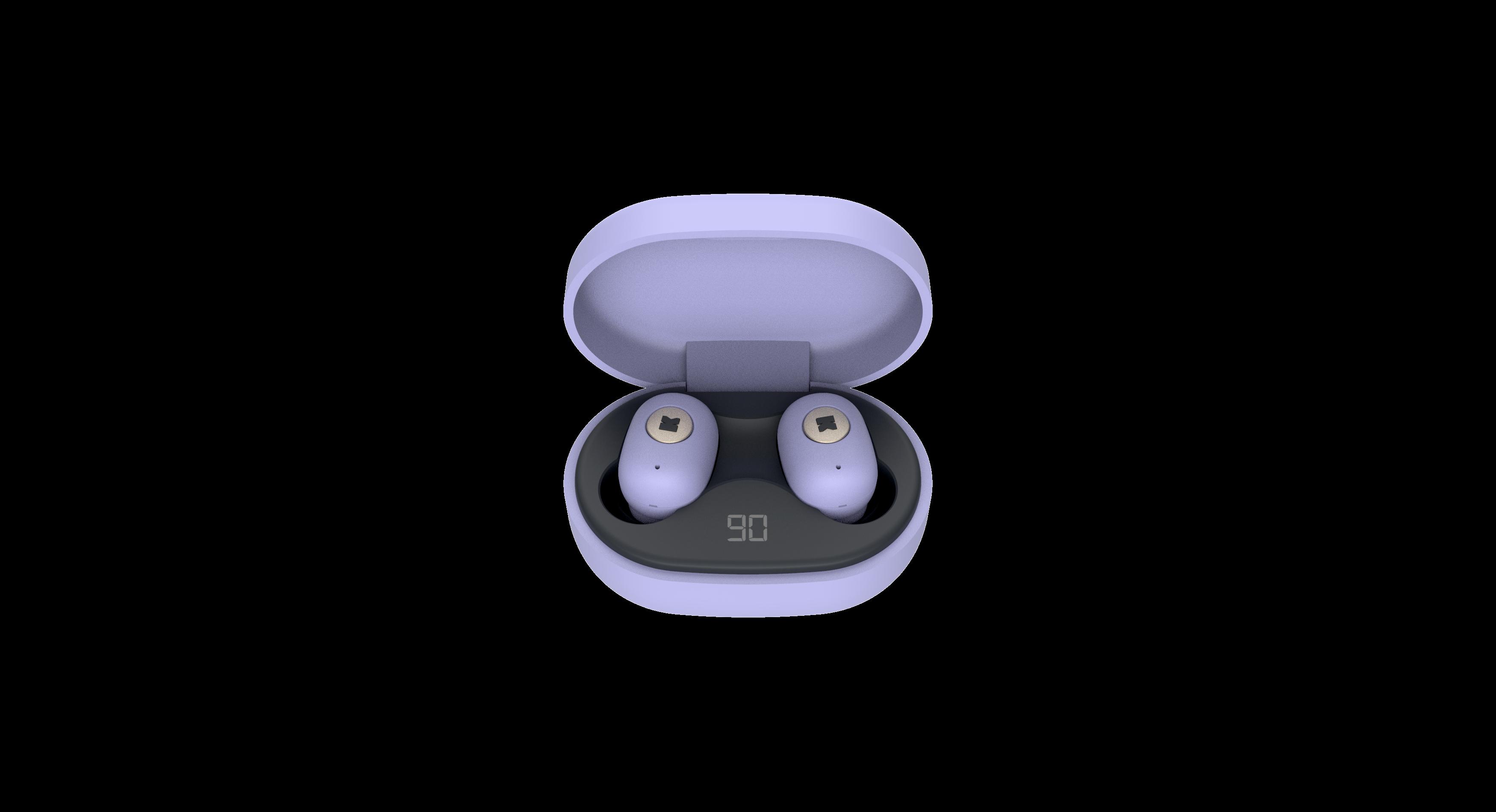 Billede af KreaFunk - aBEAN In-Ear Bluetooth Høretelefoner - Spring Lavender