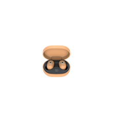KreaFunk - aBEAN In-Ear Bluetooth Headphones - Sunny Orange (KFLP15)