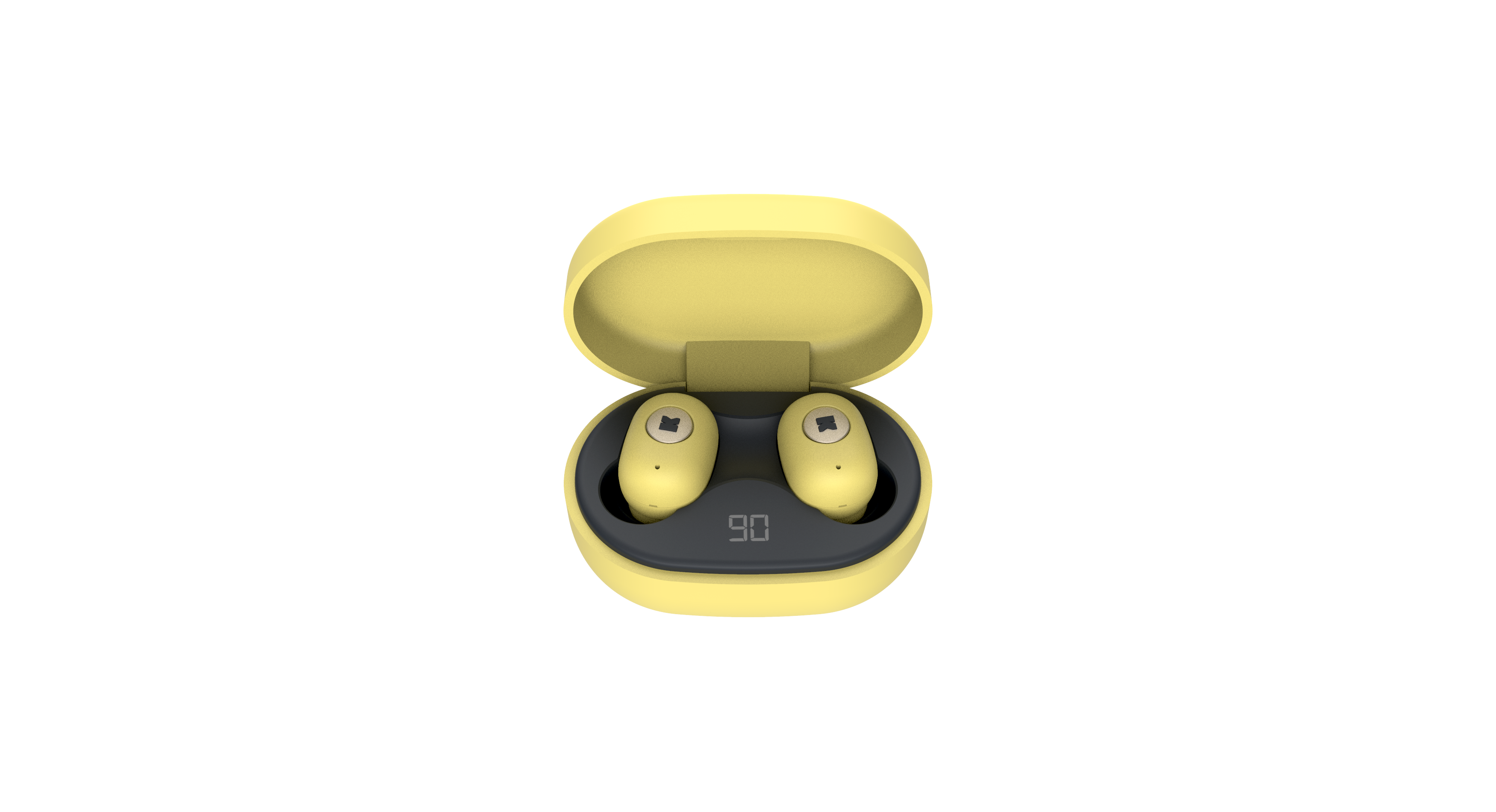 Billede af KreaFunk - aBEAN In-Ear Bluetooth Høretelefoner - Fresh Gul