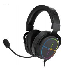 DON ONE - GH401 RGB Gaming Headset - Virtual Surround Sound 7.1