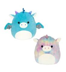 Squishmallows - Flip A Mallow 13 cm - Dragon & Unicorn