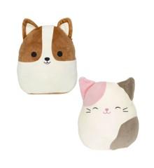 Squishmallows - Flip A Mallow 13 cm - Corgi & Cat