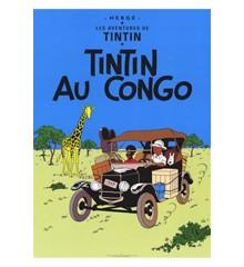 Tintin i Congo ( CONGO) - Poster