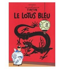 Den Blå Lotus (LOTUS BLEU) - Poster
